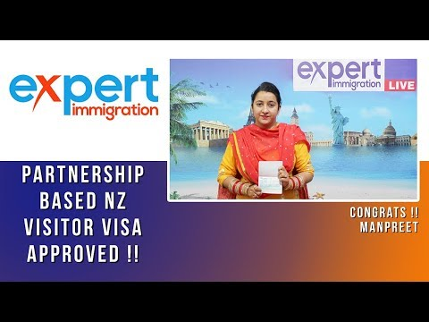 MANPREET KAUR NZ PARTNERSHIP BASED VISITOR VISA APPROVED