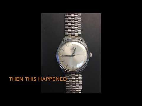 Omega Watch Restoration -  A Story by Watch Technicians Saint Louis