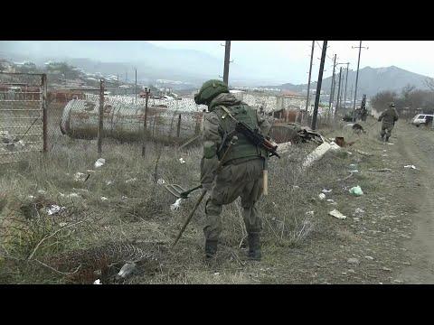 В Нагорном Карабахе российскими миротворцами была предотвращена эскалация со стороны Азербайджана.