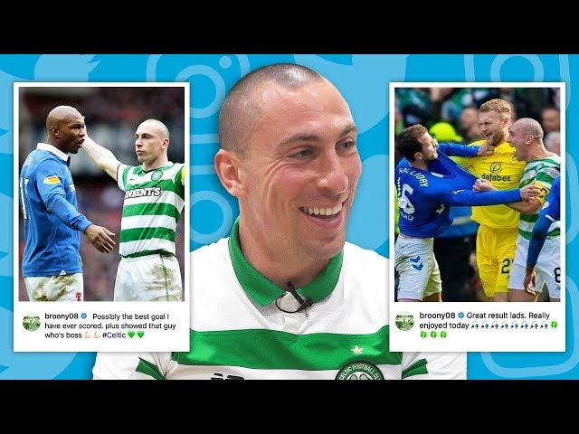 SCOTT BROWN REACTS TO TROLLING RANGERS FANS!   #UNFILTERED