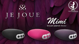Video: MIMI CLITORIAL VIBRATOR BY JE JOUE