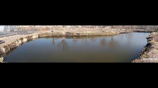 Пруд без плёнки во дворе Обзор пруда через 13 лет