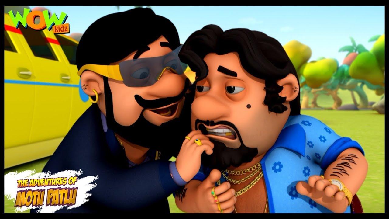 Motu Patlu Cartoons In Hindi |  Animated cartoon | John ka bhai Jonny | Wow Kidz