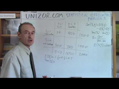Unizor - Statistics - Correlation Problem 3