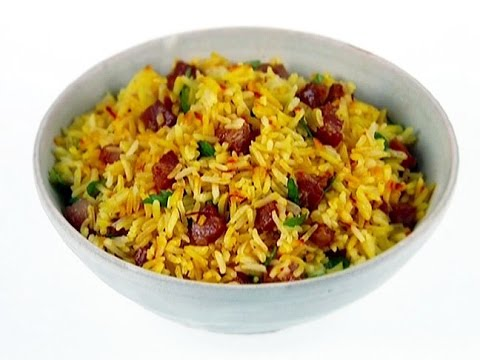 Basmati Rice With Spices and Saffron | INDIAN RECIPES | WORLD'S FAVORITE RECIPES | HOW TO MAKE