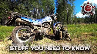 True Wilderness Dirt Bike - Yamaha TW200 Stuff You Want To Know