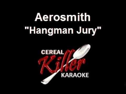 CKK-VR - Aerosmith - Hangman Jury (Karaoke) (Vocal Reduction)