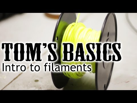 3D printing basics - Intro to filaments