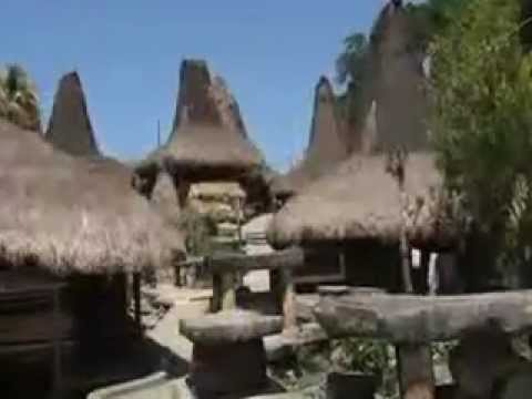 Inside Sumba Traditional House