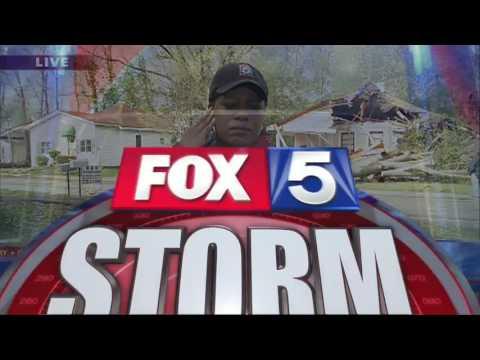 Severe weather tears through Georgia
