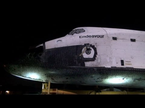 NASA Space Shuttle Endeavour FOUND On the STREETS of Los Angeles Hd WideScreen
