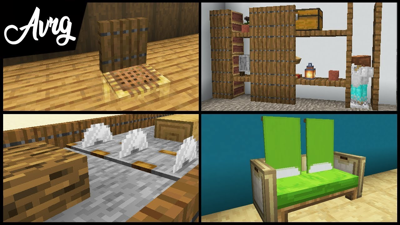 Minecraft 10 Small Ways To Decorate Your House Youtube