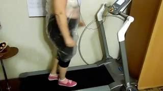 Похудение на беговой дорожке 1.5 кг за 35 -40минут
