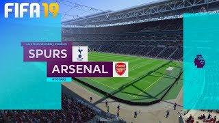 FIFA 19 - Tottenham Hotspur vs. Arsenal @ Wembley Stadium