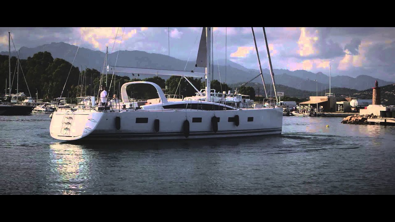 Jeanneau 64 Yacht New Thruster Use And Docking Single