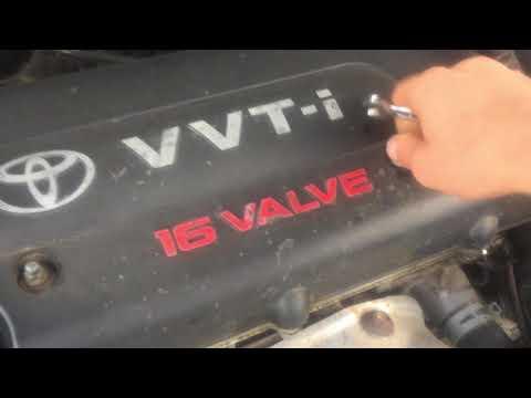 Чистка вентиляционного клапана Toyota Camry 40