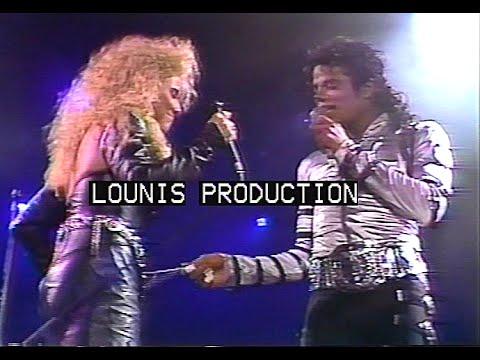 Michael Jackson - 1988 Rome Bad Tour - IJCSLY and SOOML ...