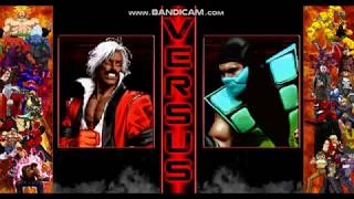 M.U.G.E.N God Rugal vs Chameleon/Michael Jackson