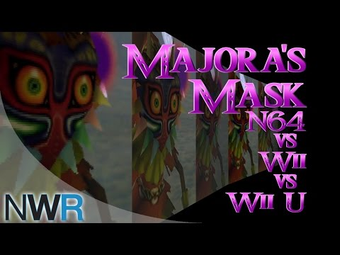 Majora's Mask: N64/Wii/Wii U Comparison
