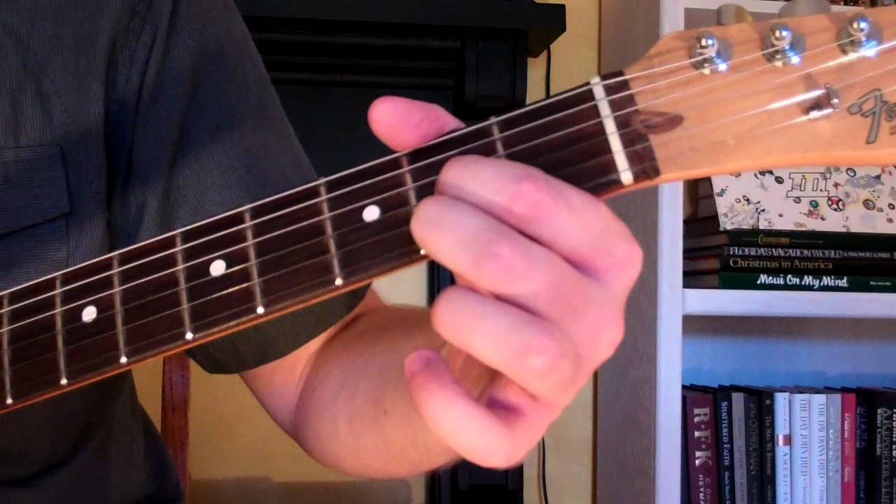 How To Play The D6 Chord On Guitar D Sixth 6th Youtube