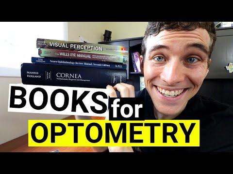 CRUSH IT In Optometry School - Best Books For Optometry