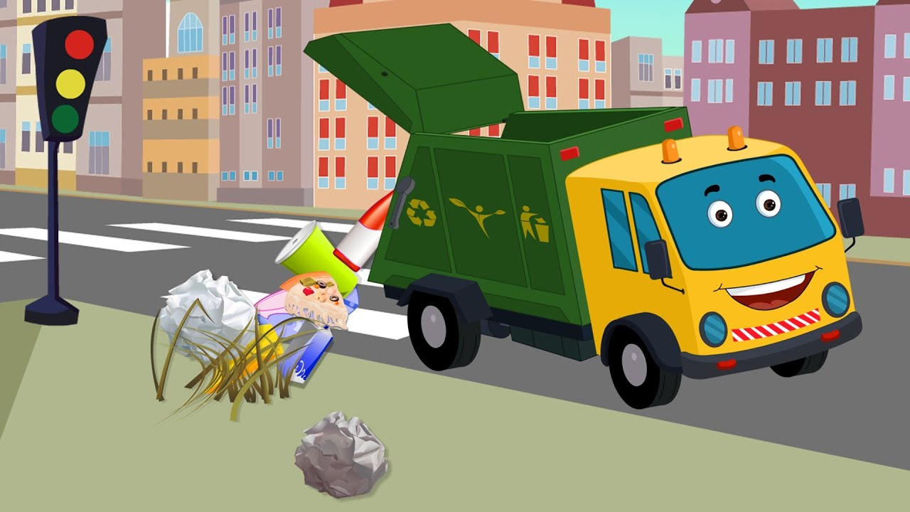Kids Channel Garbage Truck Garbage Truck For Kids Youtube