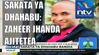 Zaheer Jhanda ajitokeza na kujitetea kuhusiana na sakata ya dhahabu bandia