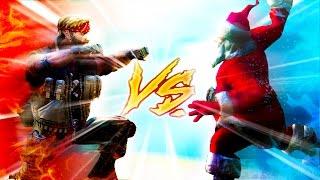 Ultimate Epic Battle Simulator   SANTA vs. CHUCK NORRIS!!