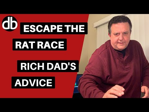 Escape The Rat Race - Advice From Robert Kiyosaki's Rich Dad