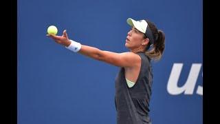 Alison Riske vs. Garbiñe Muguruza | US Open 2019 R1 Highlights