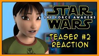 Reaction. Star Wars: The Force Awakens - Teaser #2
