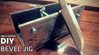 DIY Bevel Jig From Old Rusty Сhannel