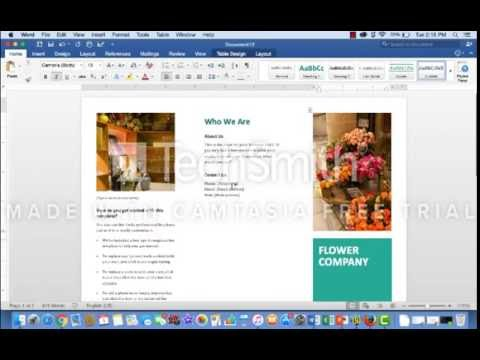 How To Create A TriFold Brochure Using Microsoft Word Templates - Word tri fold brochure template