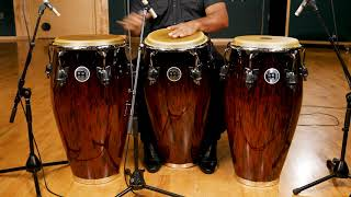 MEINL Percussion - Professional Series Congas (Brown Burl)
