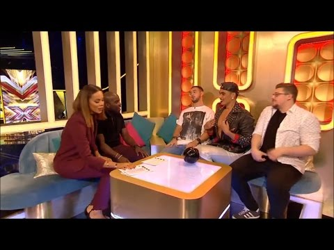 The Xtra Factor UK 2015 Judges' Houses The Guys Finalists Interview
