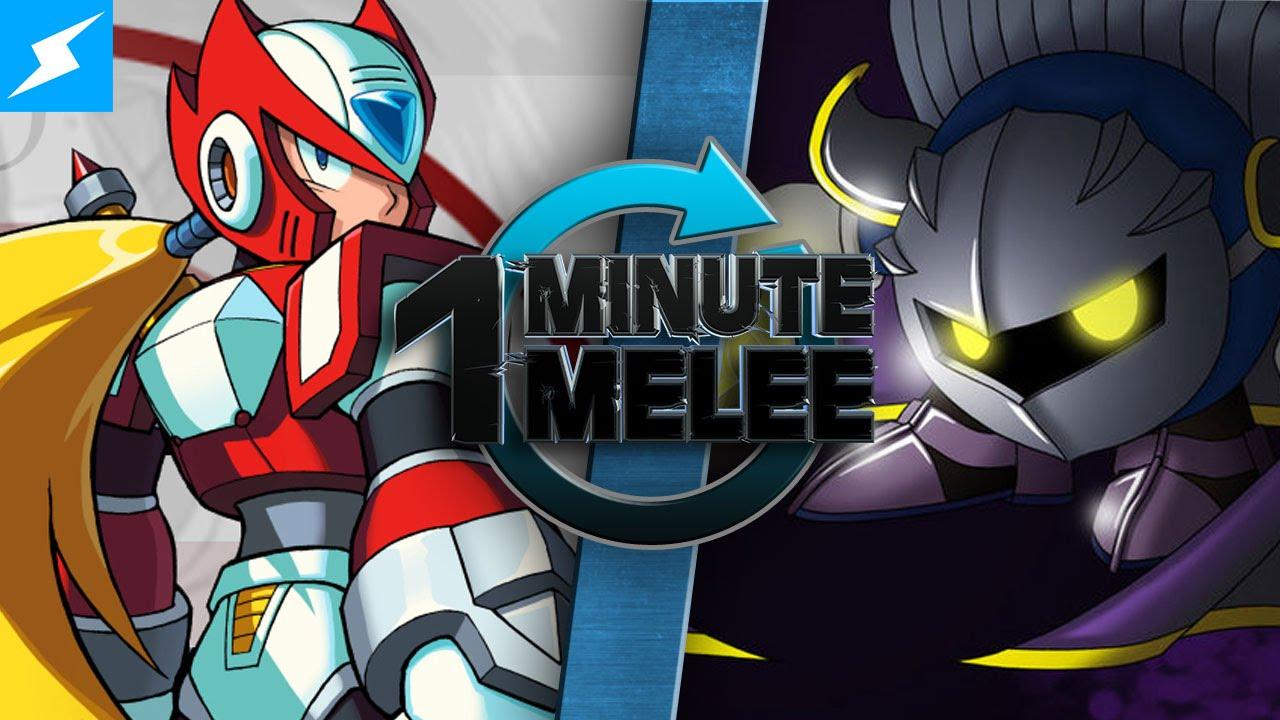 One Minute Melee Zero Vs Meta Knight Capcom S Mega Man