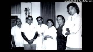 Dil Dhoondhta Hai - Madan Mohan sings many tunes for one song
