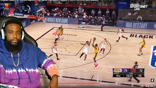 LEBRON NEEDS HELP! Los Angeles Lakers vs Toronto Raptors - Full Game Highlights   August 1