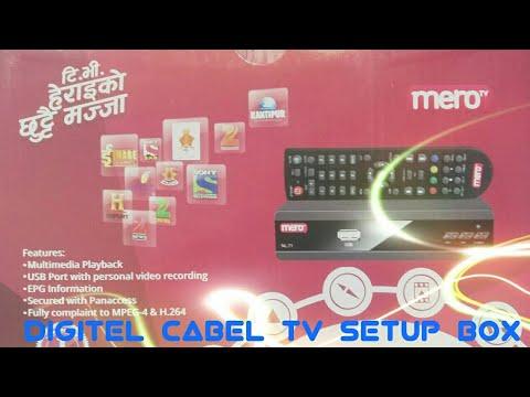 Mero||Digital Cable💻T V 📟Setup! Box》