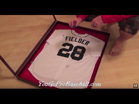 How To Frame A Sports Jersey For A Lot Less Money Youtube