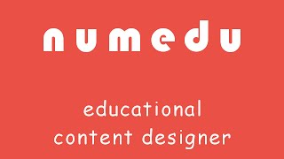 NumEdu - Educational Content Designer