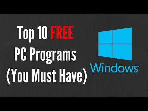 Top 10 FREE PC Programs (You Must Have)