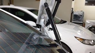 I replaced the Model 3 trunk struts with two of these: https://amzn...