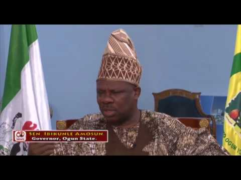 """AMOSUN:""""...OGUN state is both the Industrial & Education Capital of Nigeria..."""""""
