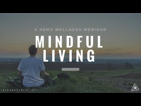 Mindful Living Q&A with Luke Jones / HERO Wellness Webinar