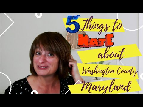 5 Reasons Not To Move To The Hagerstown, Washington County Area In Maryland
