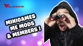 🔴MINIGAMES ΜΕ MODS & MEMBERS🔴 FORTNITE SAC:VKK-VALANTAKOS