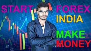 FOREX TRADING START INDIA | MAKE MONEY 🔥