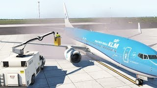 Zibo Mod Boeing 737 - Realism of Wing Anti Icing at Frost | X Plane 11