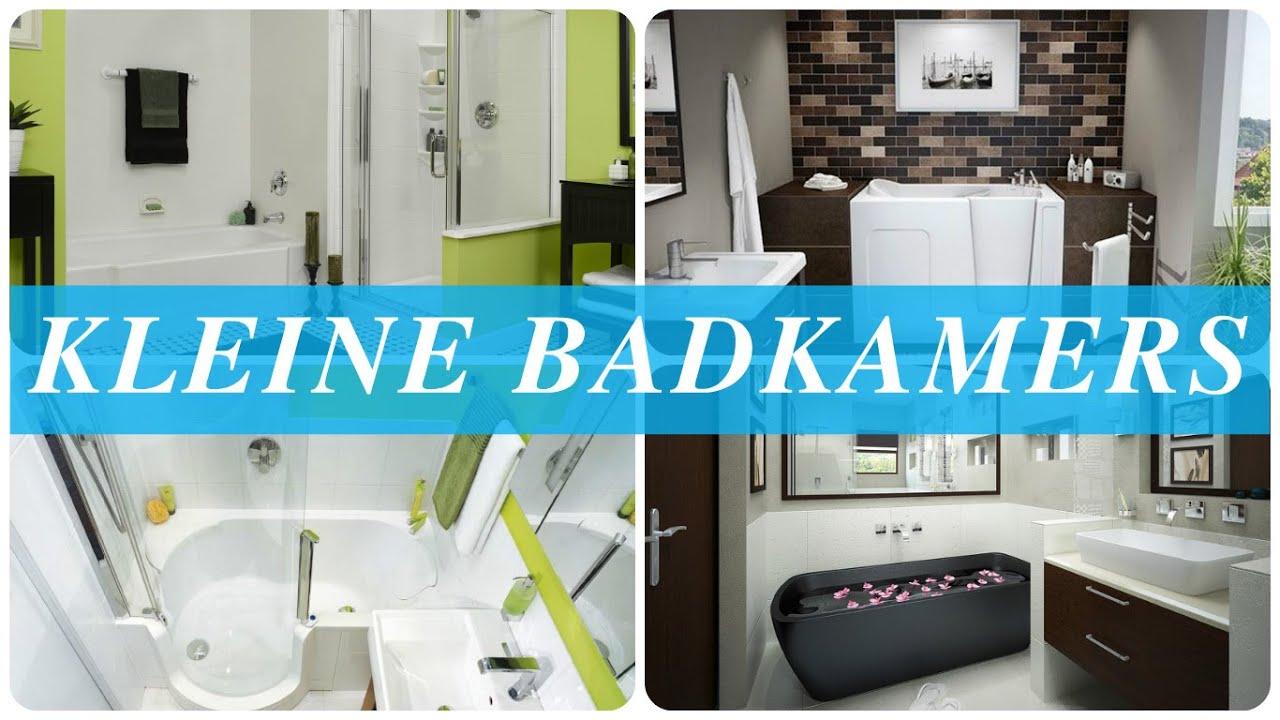 Kleine badkamers - YouTube